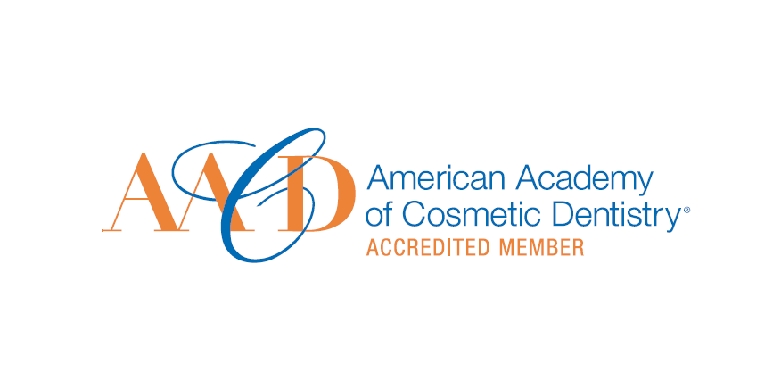 Logo for Accredited members of the American Academy of Cosmetic Dentistry